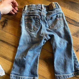 Denim infant jeans